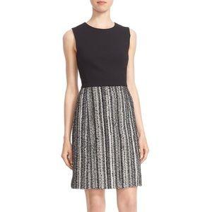 Milly Metallic Tweed A-Line Dress Size 0